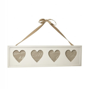 Four Heart Photo Frame