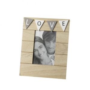 Wooden Love Frame