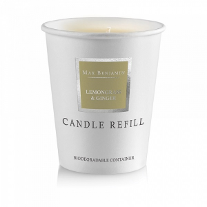 Lemongrass & Ginger Candle Refill