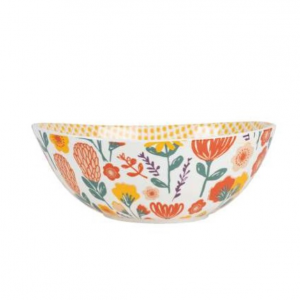 Porcelain Salad Bowl Sevents Terracotta
