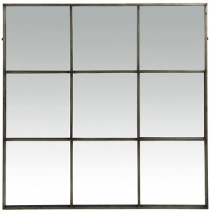 Palace Metal 9 Partitions Mirror Grey