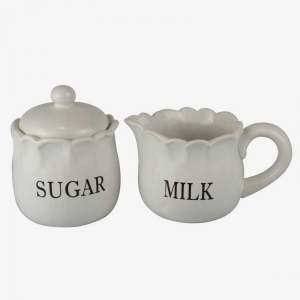 Sugar and Milk Jugs Ceramic