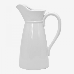 Jarra Ceramic Jug Large White