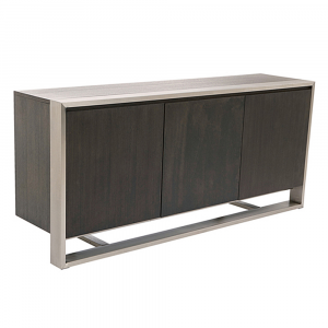 Chianti Walnut Veneer 3 Door Large Sideboard
