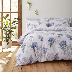 Botanical Cotton White Bedding SuperKing