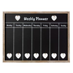 Ashley Farmhouse Weekly Chalkboard Planner