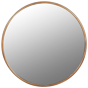 Round Mirror Gold Frame Large