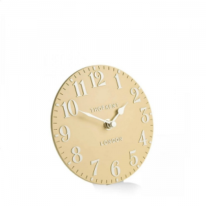 Arabic Mantel Clock Honey 6 in