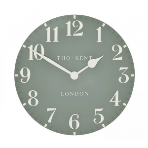 Arabic Wall Clock Seagrass 12 in
