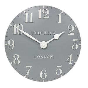 Arabic Wall Clock Flax Blue 20 in