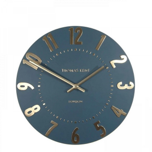 Mulberry Wall Clock Midnight Blue 12 in