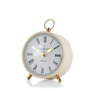 Wren Alarm Mantel Clock Taupe 4 in