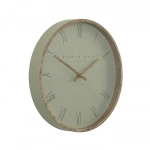 Nordic Wall Clock Olive 12in