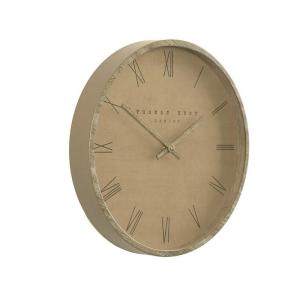 Nordic Wall Clock Tan 12in