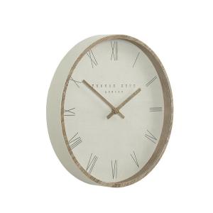 Nordic Wall Clock Tofu 12in