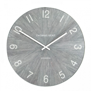 Wharf Grand Wall Clock Limestone 45 in