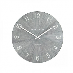 Wharf Wall Clock Limestone 22 in