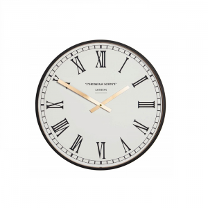 Clocksmith Wall Clock Black 16 in