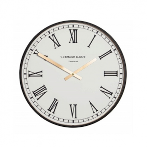 Clocksmith Wall Clock Black 21 in