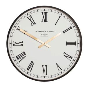 Clocksmith Wall Clock Black 30 in
