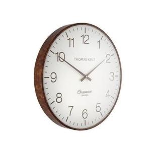 Greenwich Club Wall Clock Walnut 21 in
