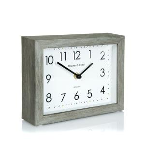 Smithfield Mantel Clock Limestone 7 in