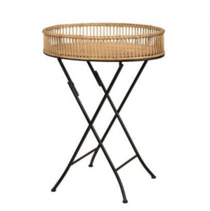 Alice Foldable oval side table