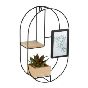Wall Shelf With Plant Shima