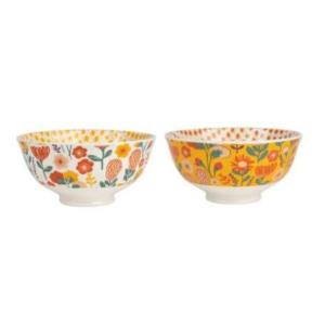 Bowl S/2 Sevents Terracotta