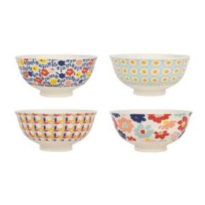 Bowl S/4 Place-Vil Multicolor