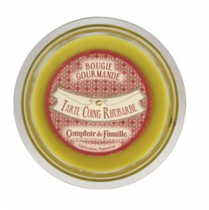 Gourmet Candle Quince Rhubarb Gourm Paraffin