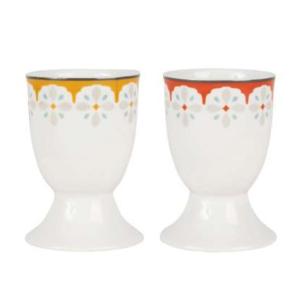 Egg Cup Car-Ciment Porcelain