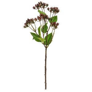 Berry Spray Green Leaf