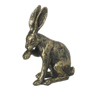 Rabbit Licking A Paw Decoration