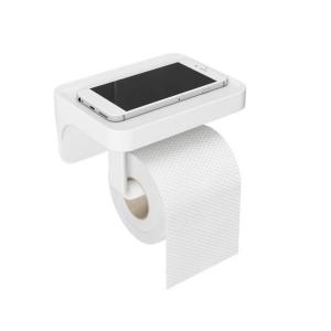 Flex Surelock Toilet Paper Holder With Shelf