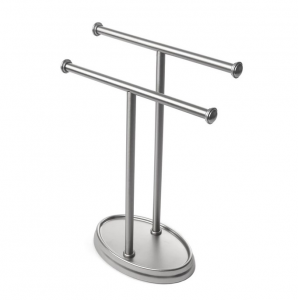 Palm Tree Towel Rack Nickel