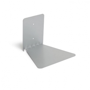 Conceal Invisible Book Shelf / Floating Books Silver Large