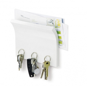 Magnetter Key&Letter Holder White