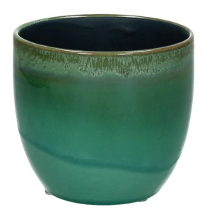 Agate Vase Green Small