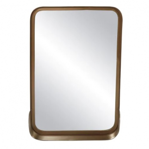 Finesse Metal Mirror Oval