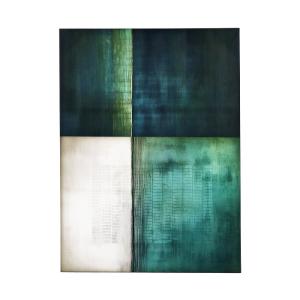 Emeraude Framed Canvas