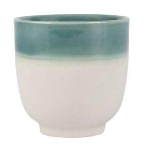 Tumbler Crakel Emerald Stoneware