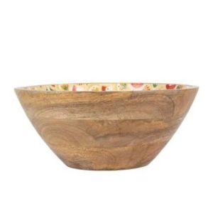 Bowl Suro Orange Mango Wood