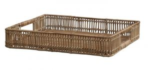 Wicker Tray Rattan Natural
