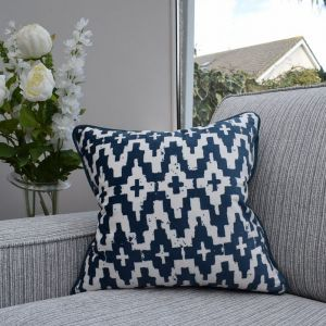 Cushion Aztec Navy