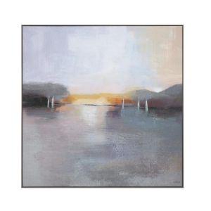 Sunset At Sea Print