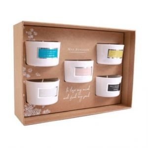 5 Signature Candles Classic Scents Gift Box