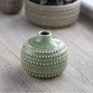 Castello Bottle Vase Medium Sage