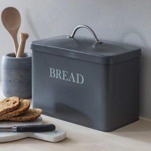 Original Bread Bin Steel Charcoal