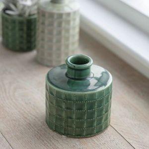 Sorrento Bottle Vase Foliage Green Medium